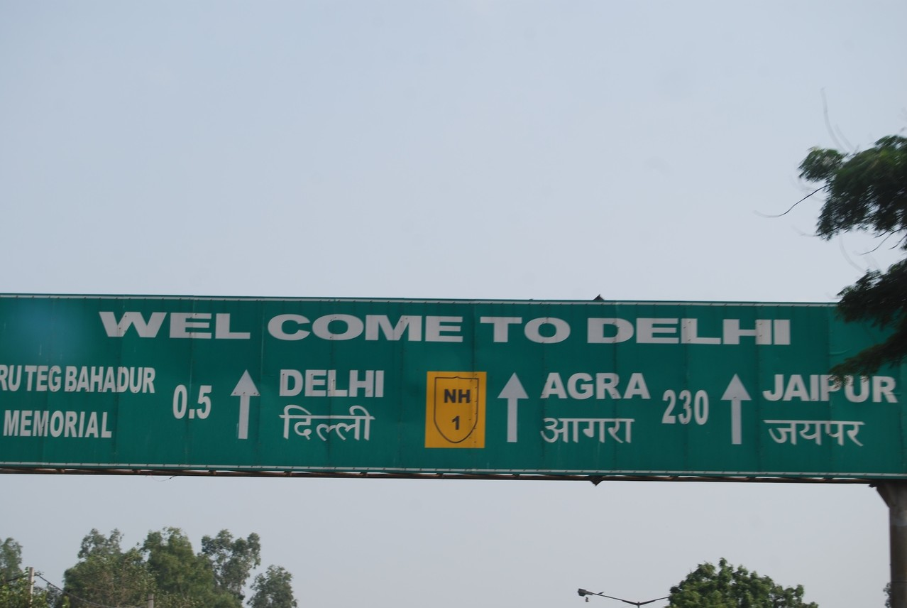 Welcome to Delhi!