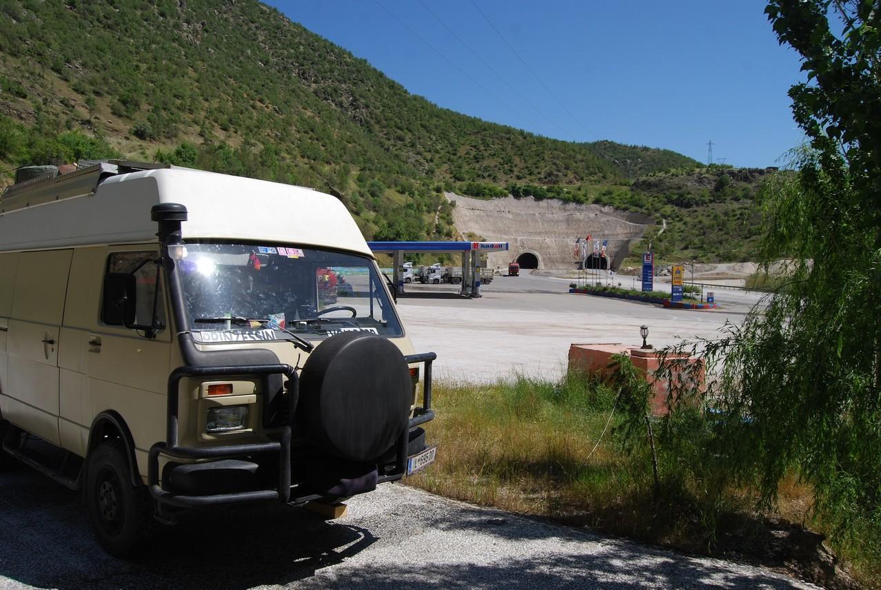Unser Stellplatz bei Akpinar