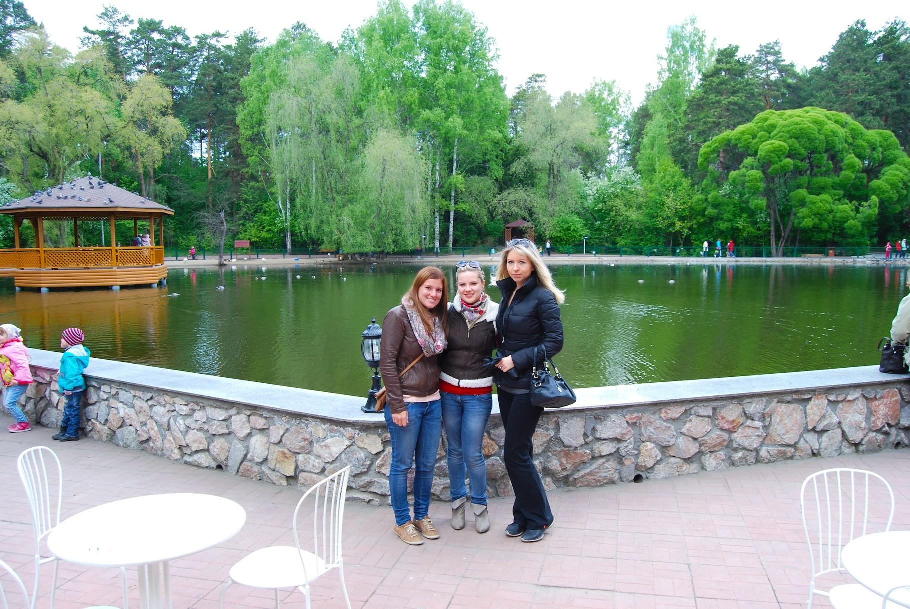 Ira, Anja und ich