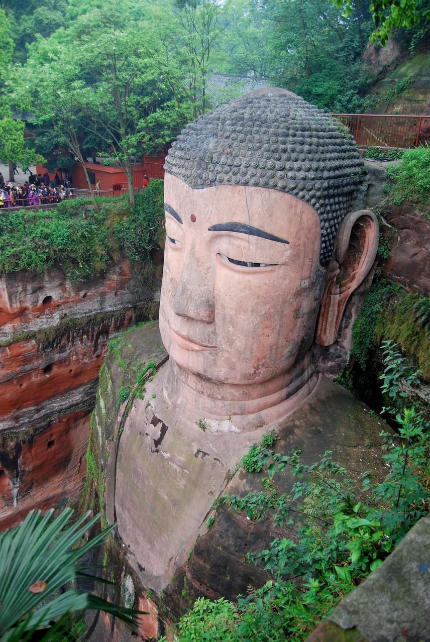 Der große Buddha von Leshan