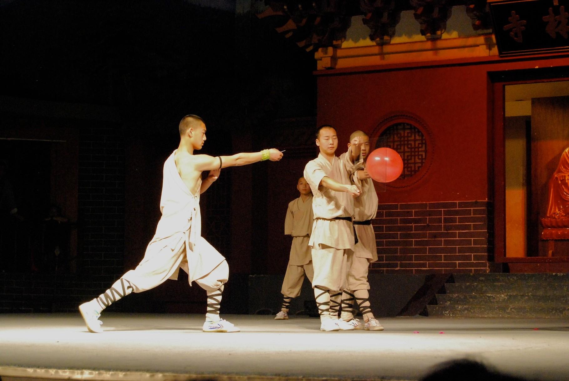 Shaolin-Vorführung