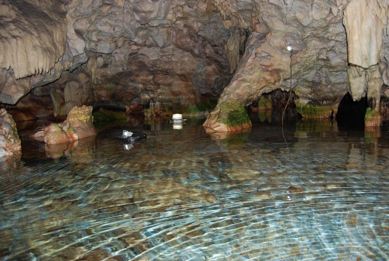 Die Höhlen von Pirgos Dirou
