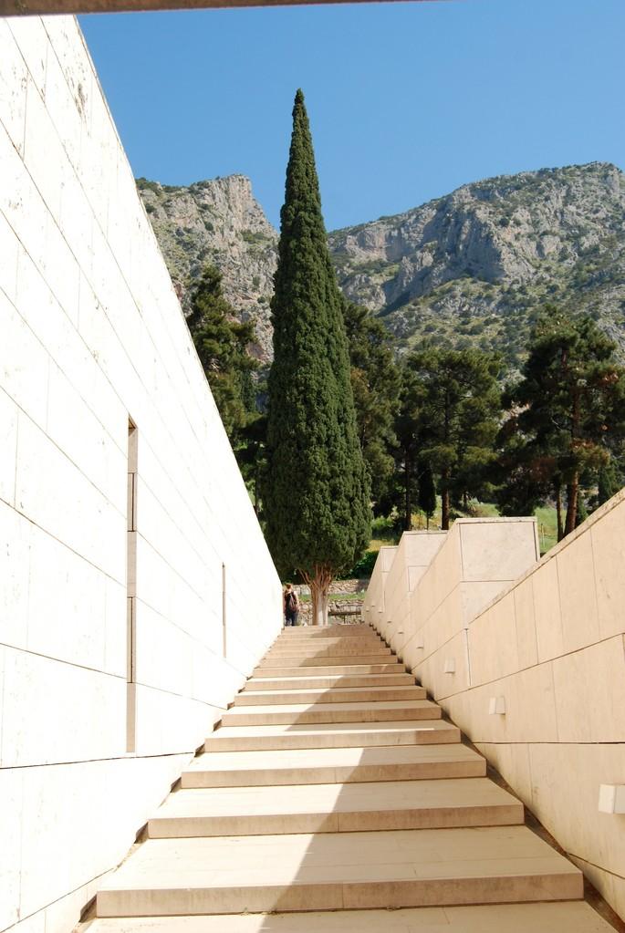 Museum in Delphi