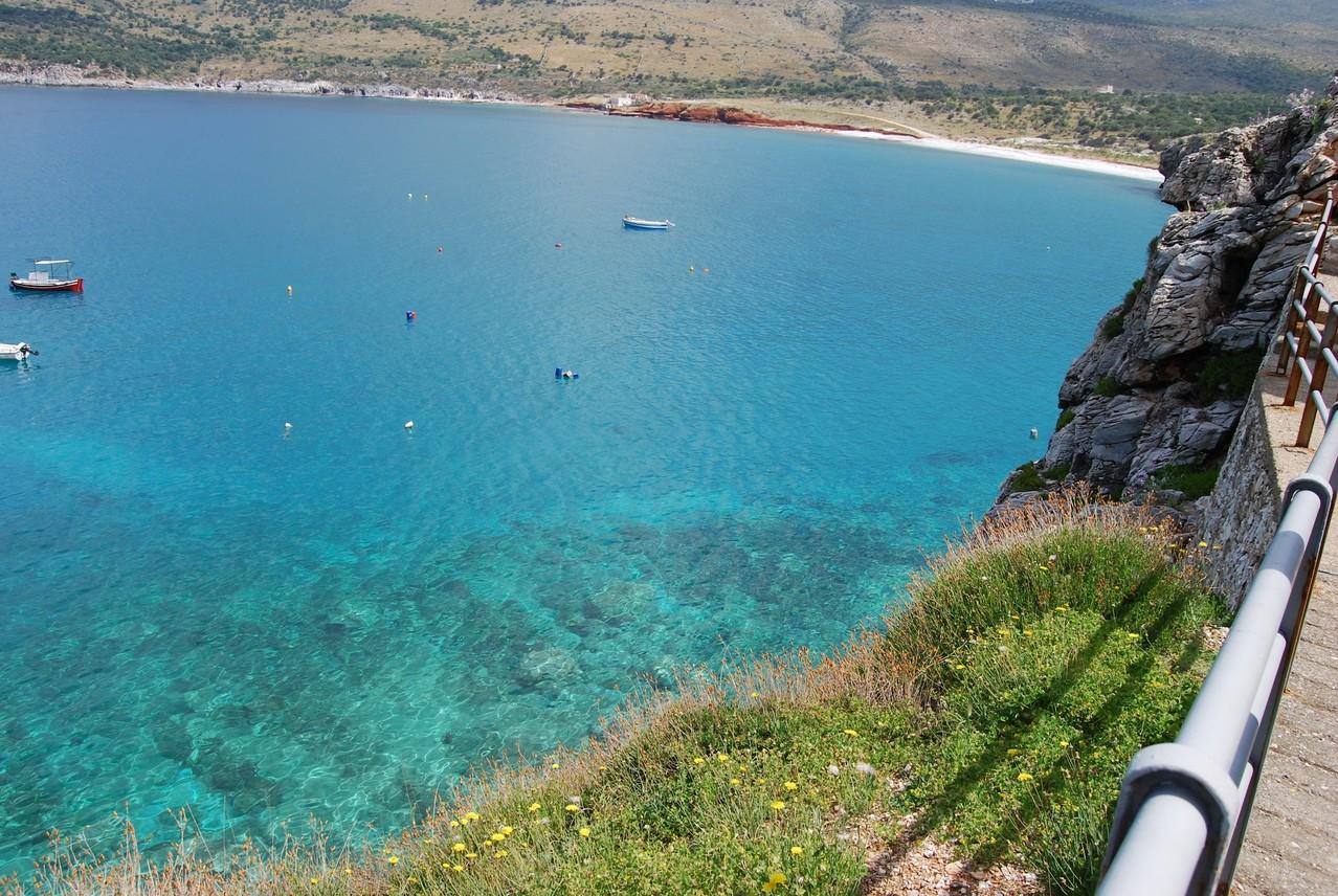 Die Bucht von Pirgos Dirou