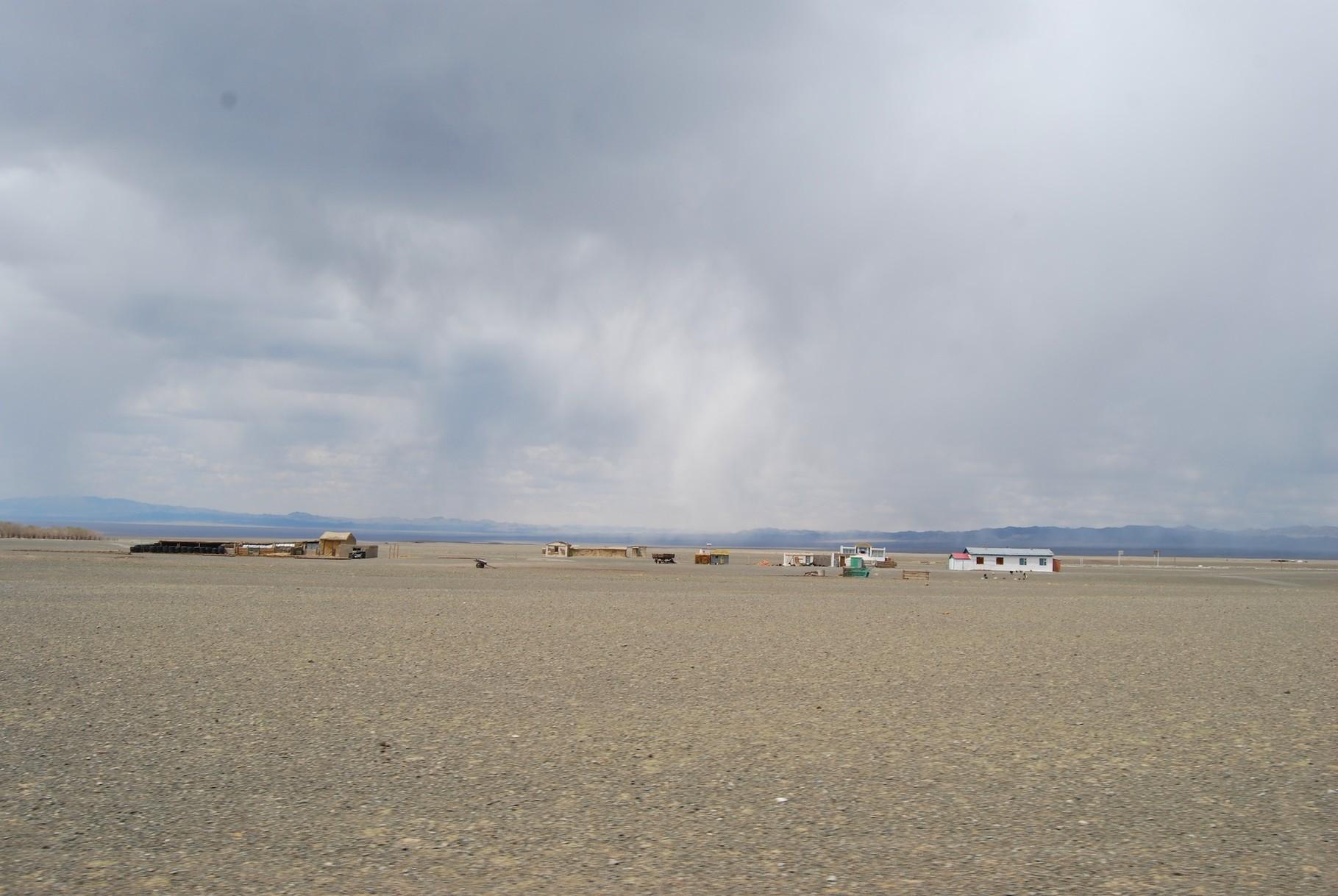 Sandsturm in der Südgobi
