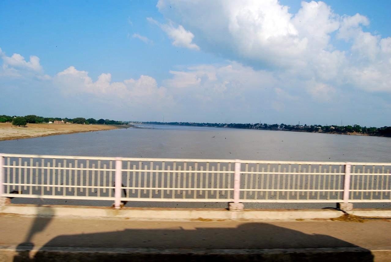 Unser erster Blick auf den Ganges