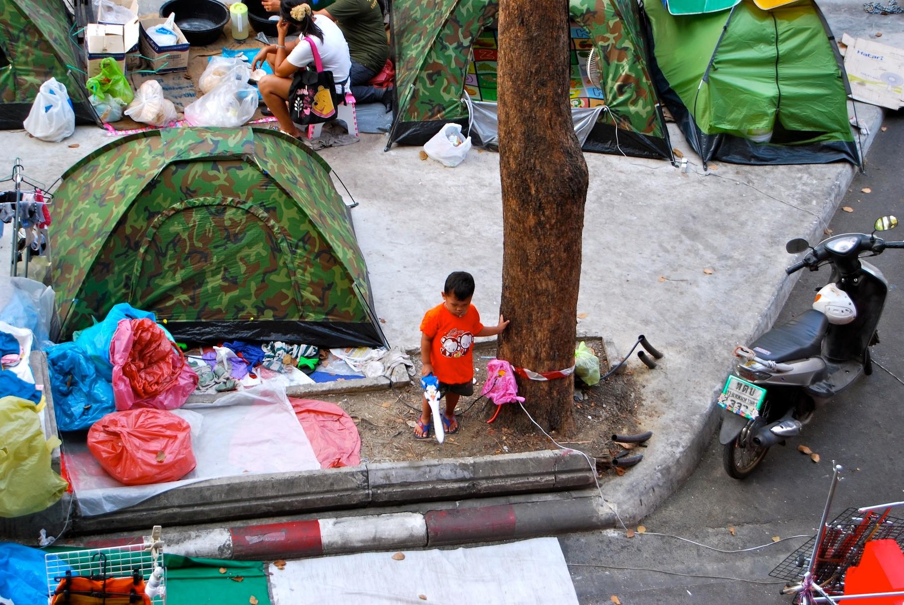 Proteste in Bangkok - er ist bereit