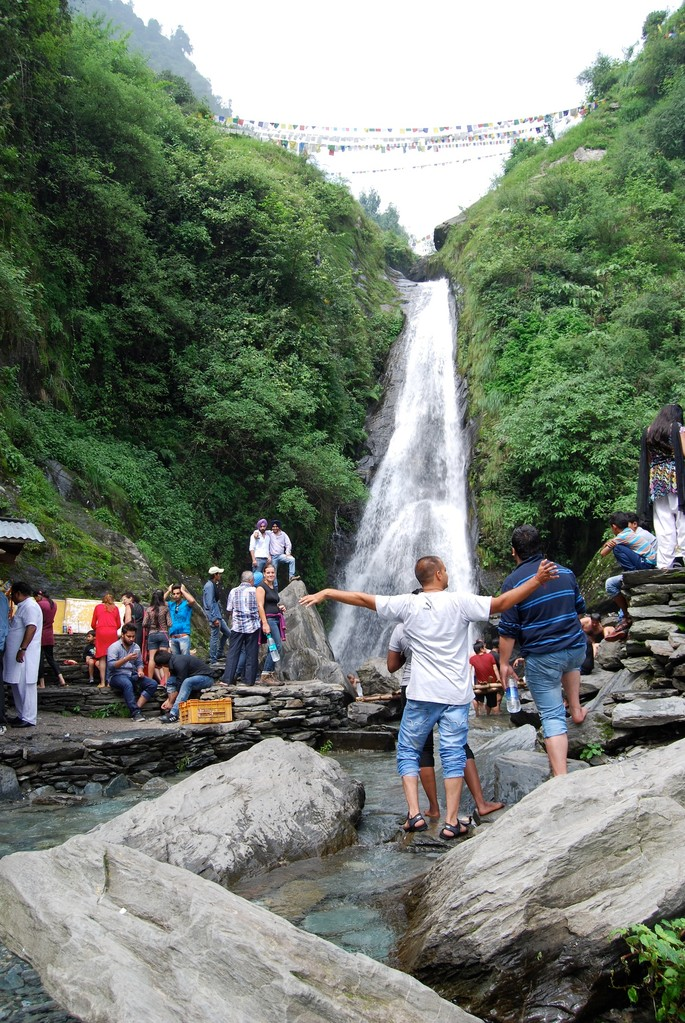 Wasserfall bei Baghsu
