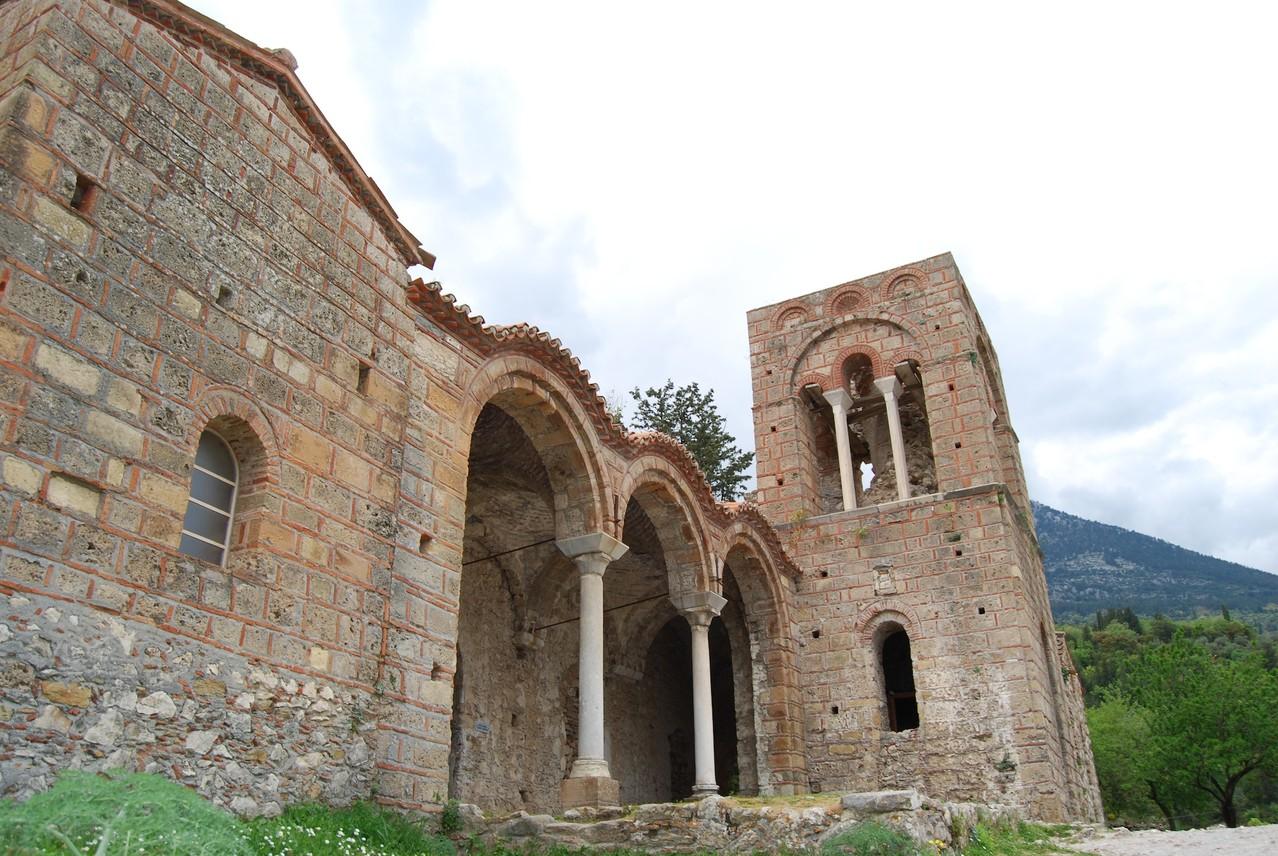 Kloster in Mystra
