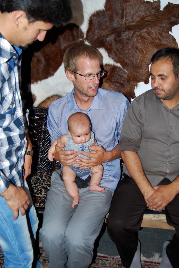 David mit der kleinen Bahar