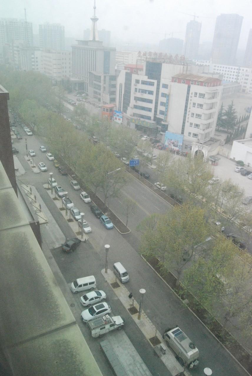 Ausblick auf den Smog