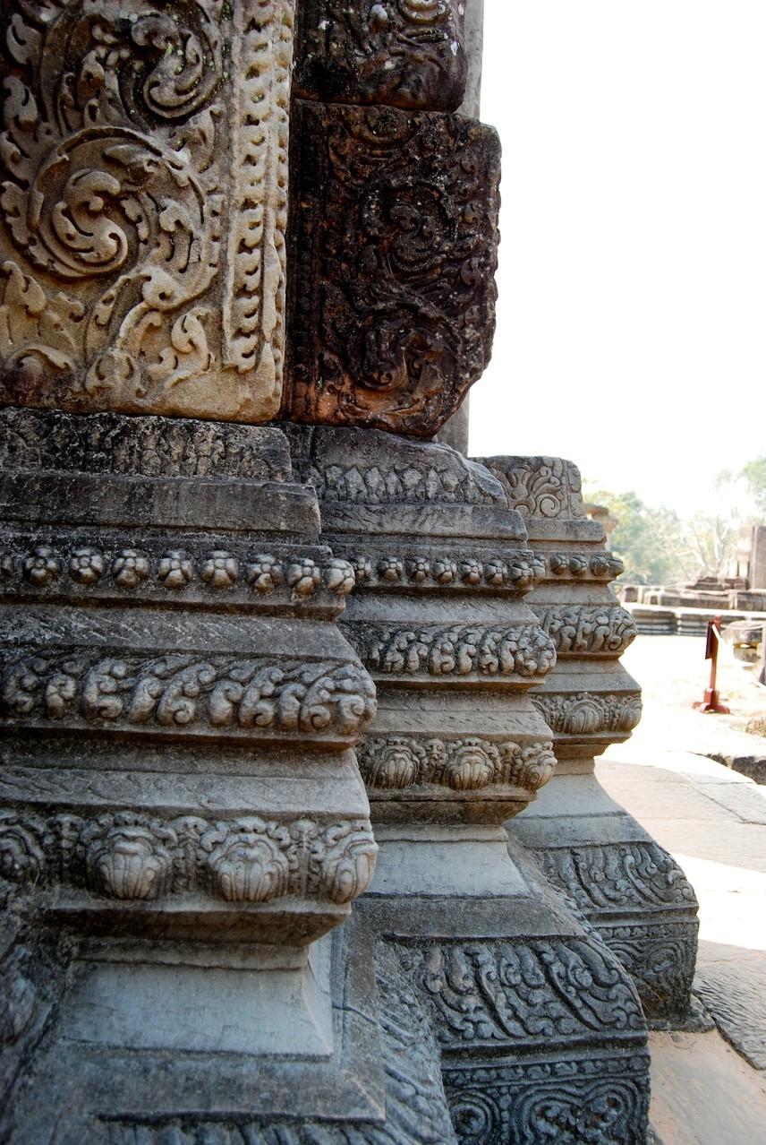 Reliefs im Angkor Thom