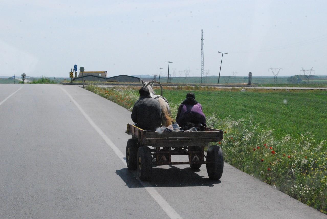 Auf der Schnellstraße zwischen Edirne und Istanbul