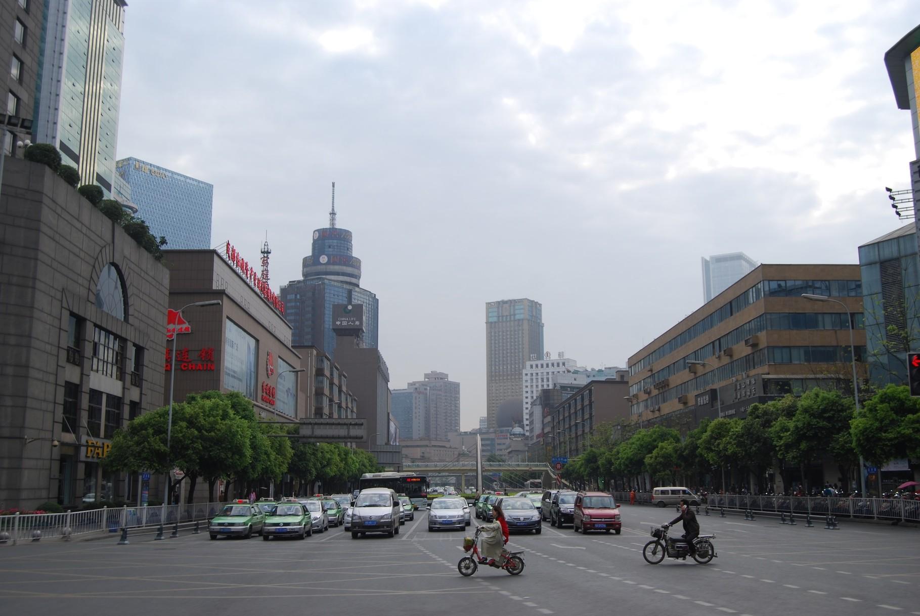 Bye, bye, Chengdu!