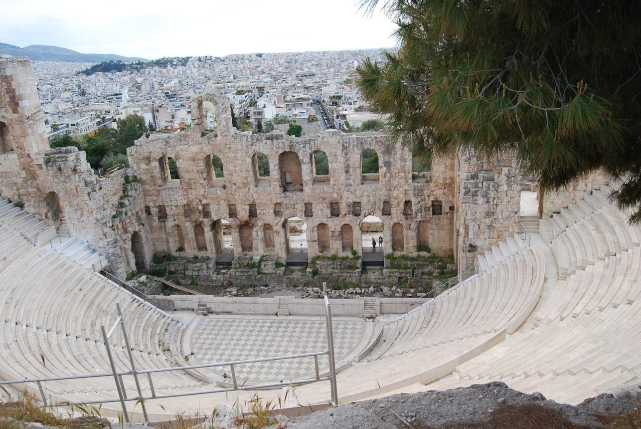 Theater bei der Akropolis