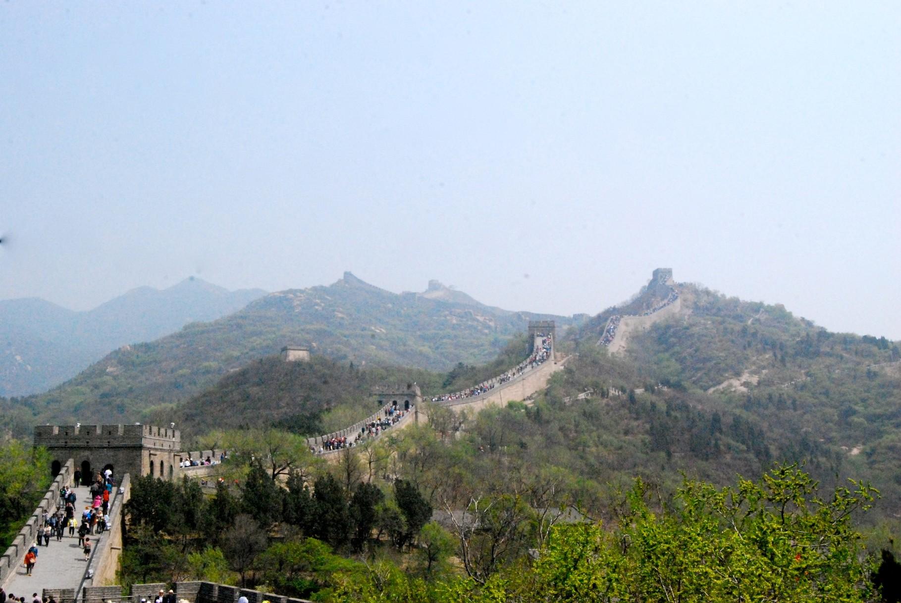 Die grosse Mauer in Badaling