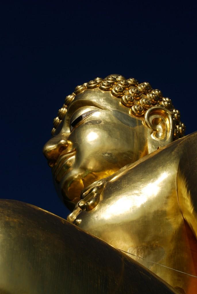 Buddha am Goldenes Dreieck