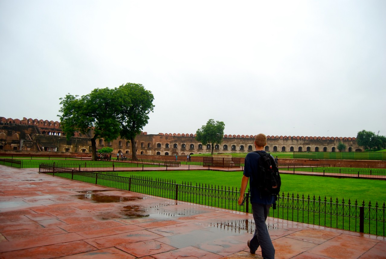 David im Agra Fort