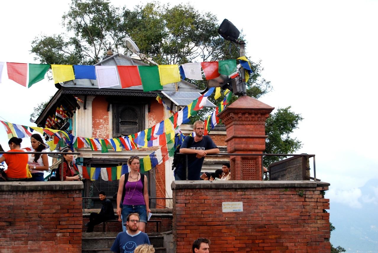 Swayambunath Tempel