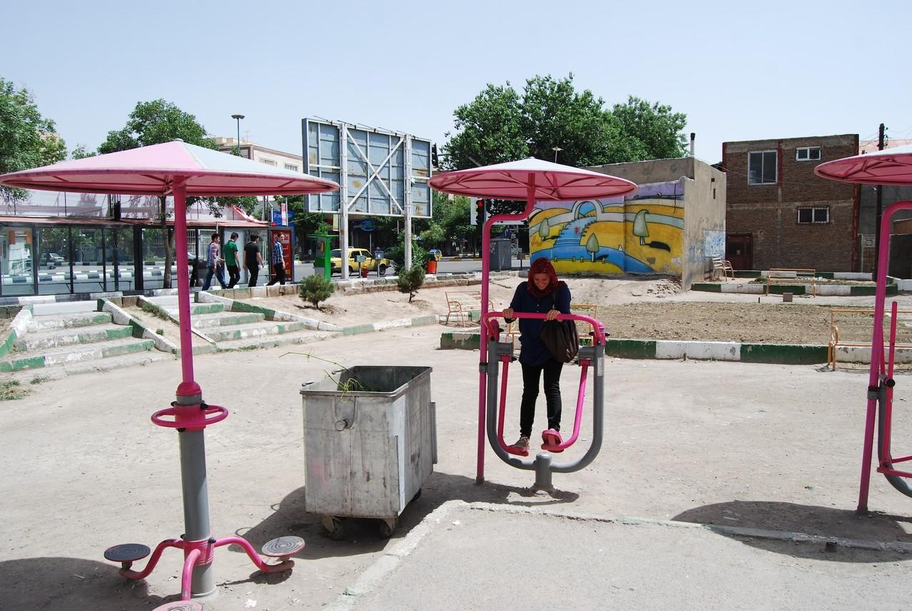 Tabriz - beim Sportln