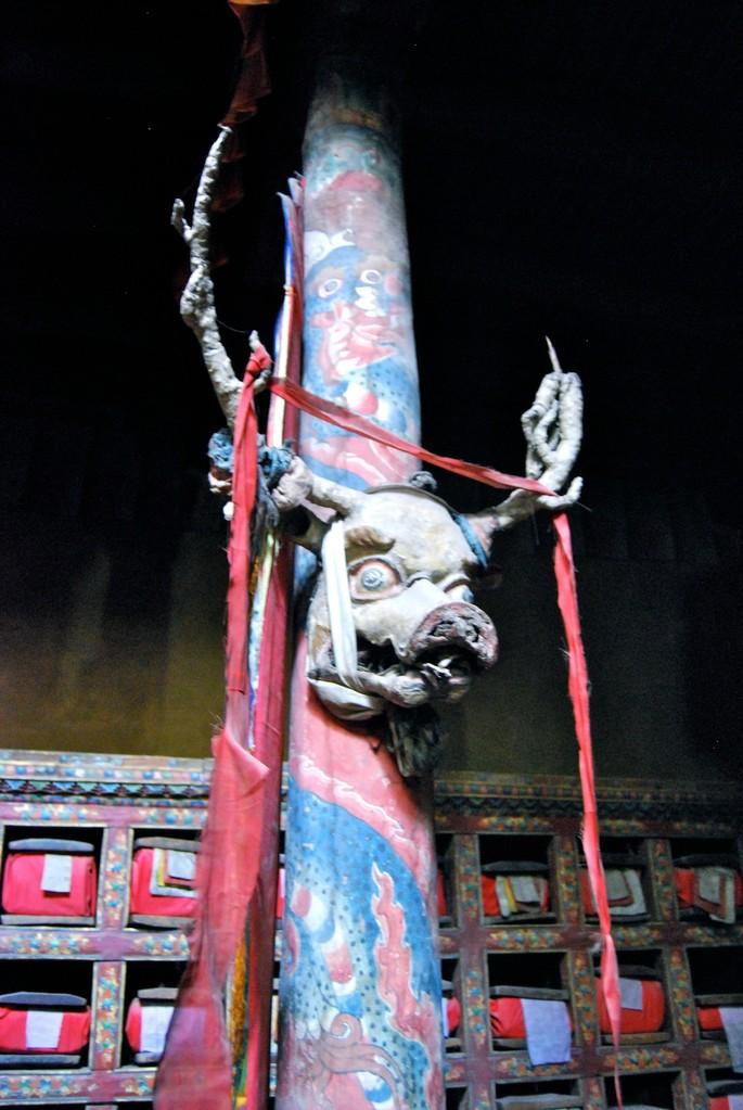 buddhistische Maske