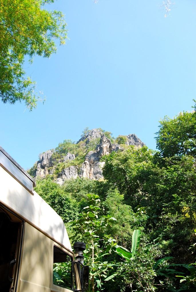Aussicht auf die Crazy Horse Buttress