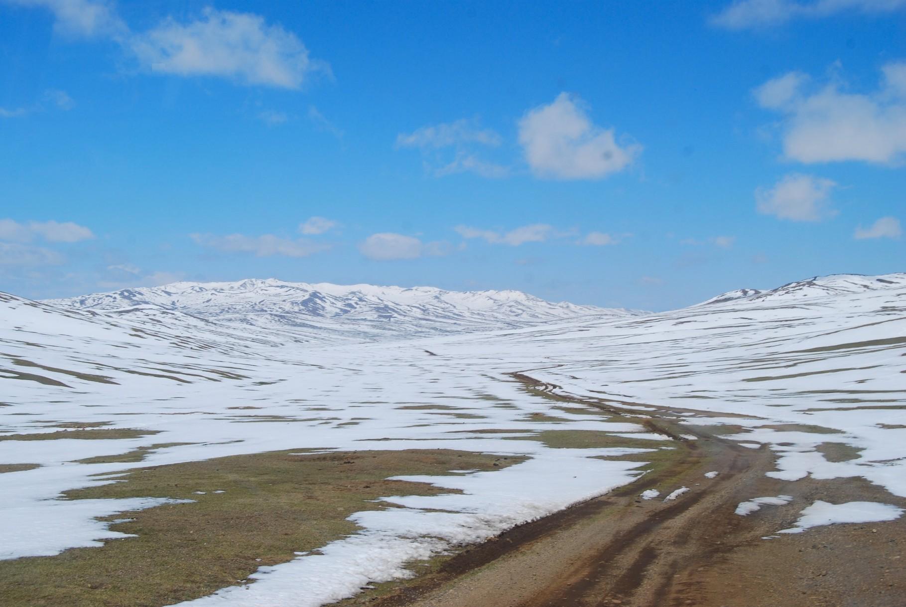 Pass nach Kharkhorin