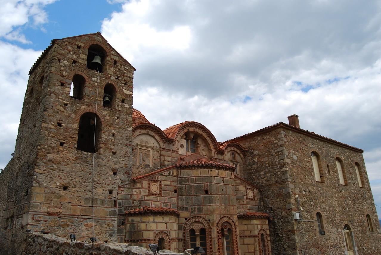 Die Kirche San Sophia in Mystra