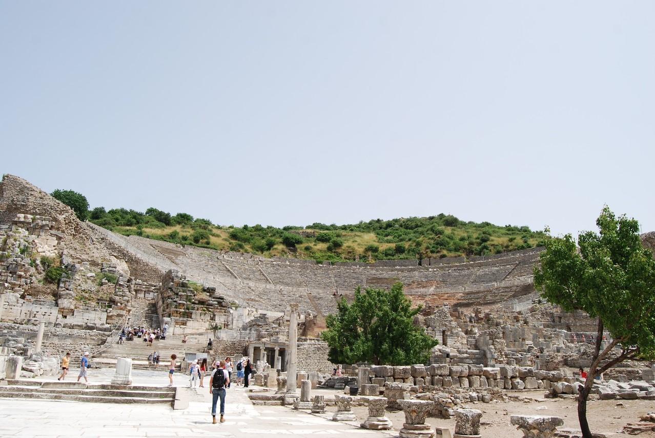 Ephesos Gymnasion und Theater