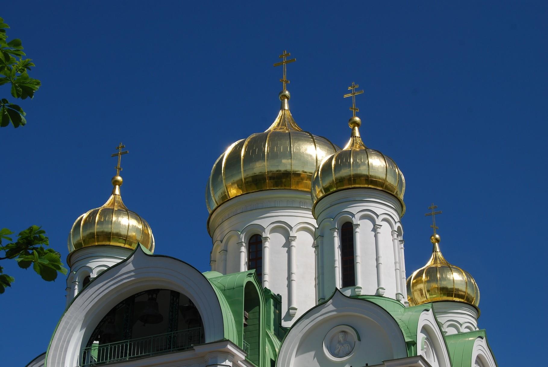 Othodoxe Kirche in Pushkin