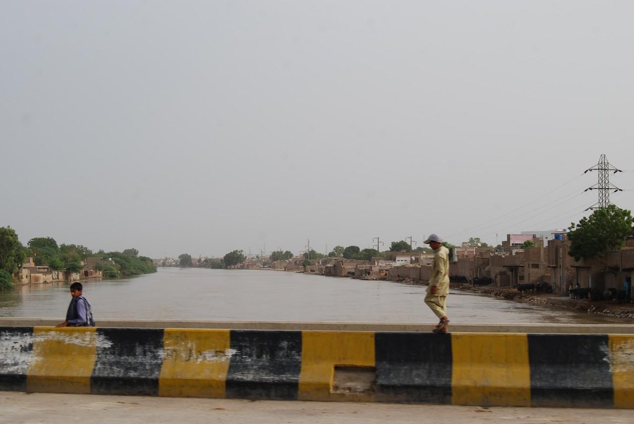 Der Indus; naja, einer seiner Arme