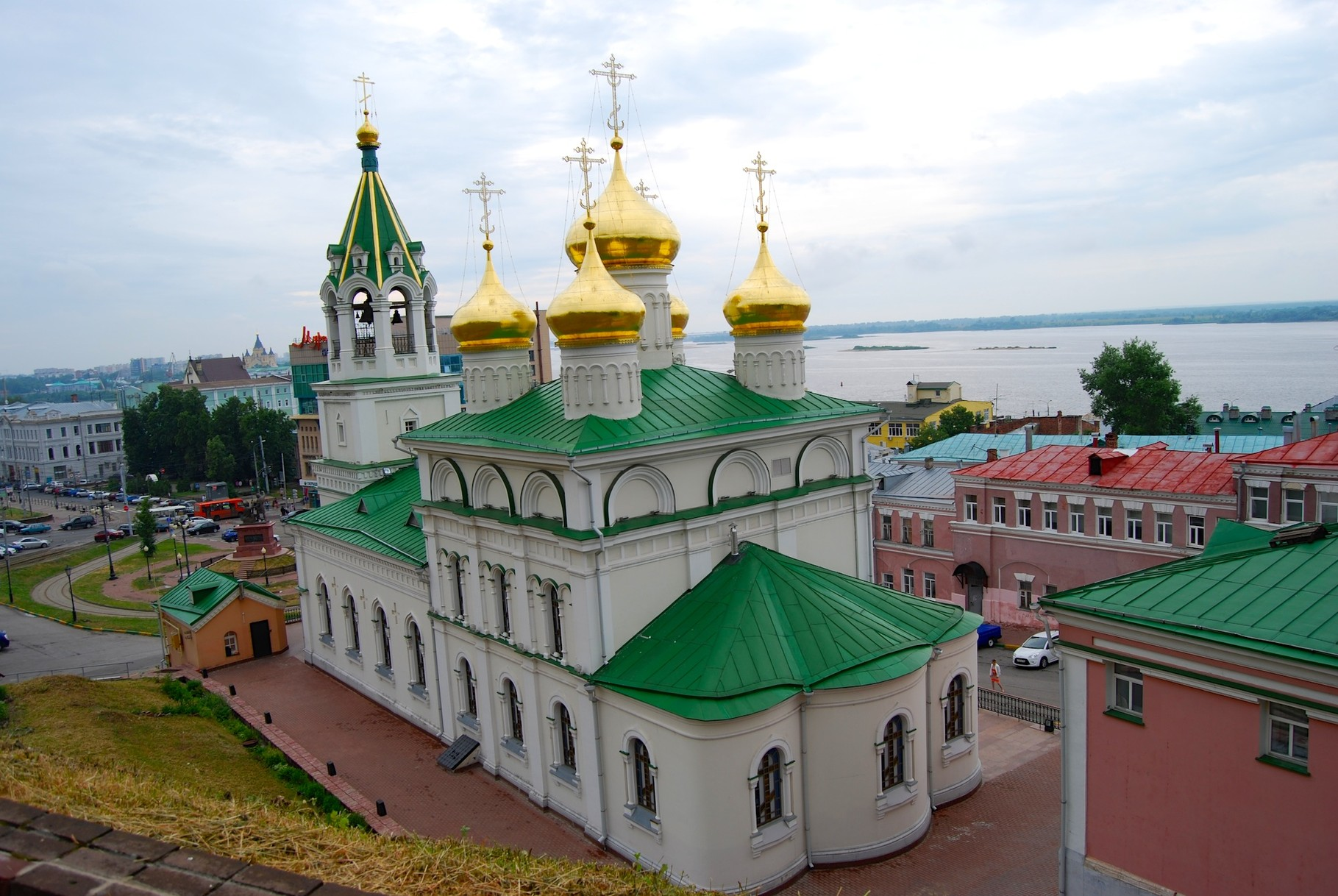 Kapelle beim Kreml von Nizhny Novgorod