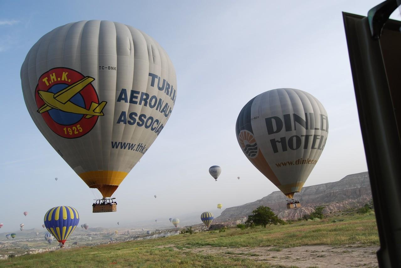 Heißluftballone in Göreme
