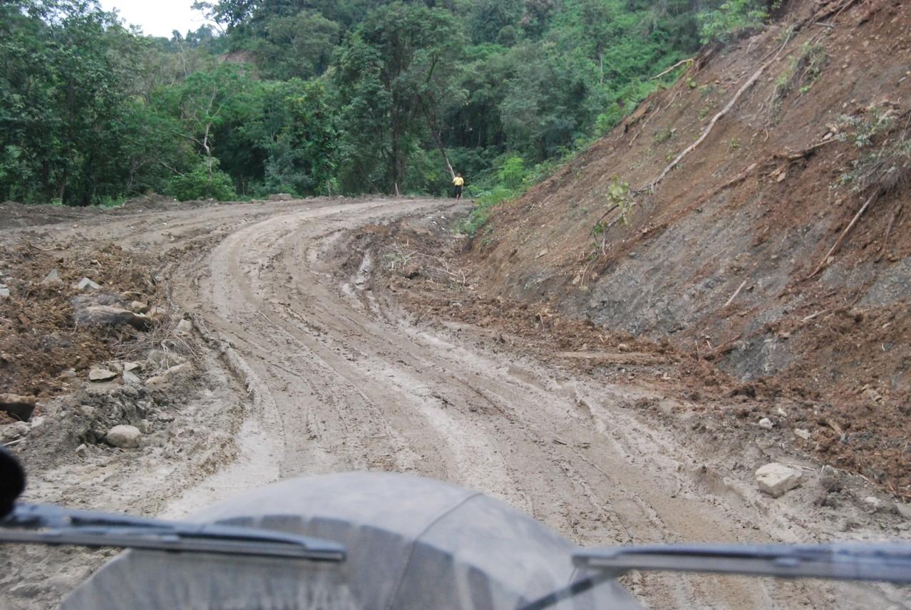 Myanmar'sche Straßen