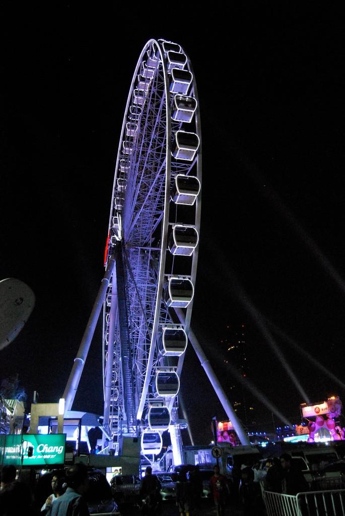 """""""London Eye"""" von der Seite"""