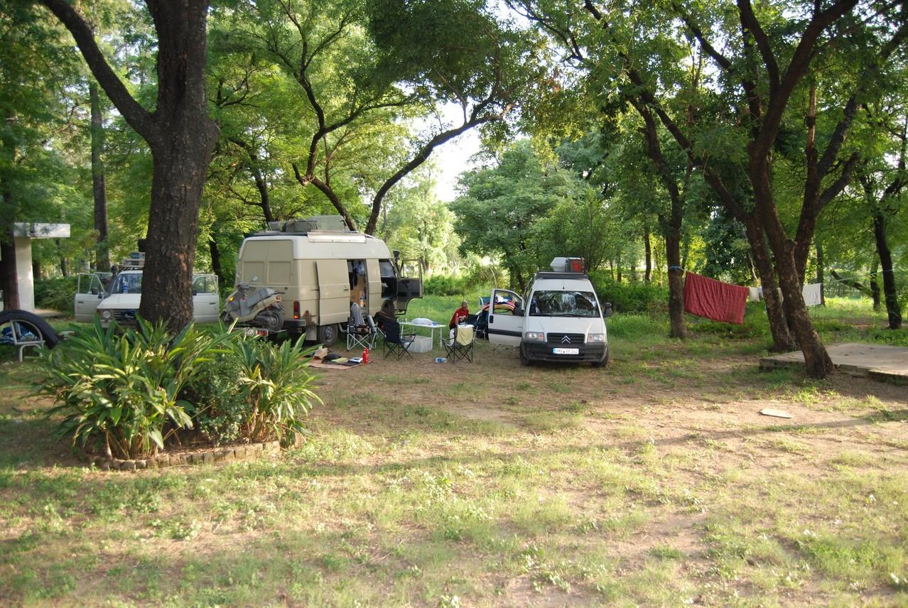 Zeltlager in Islamabad