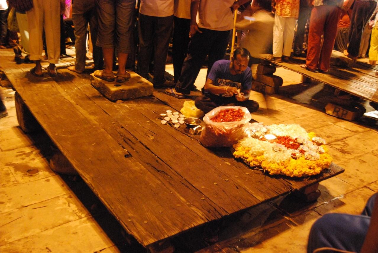 Feuer und Tanz Zeremonie