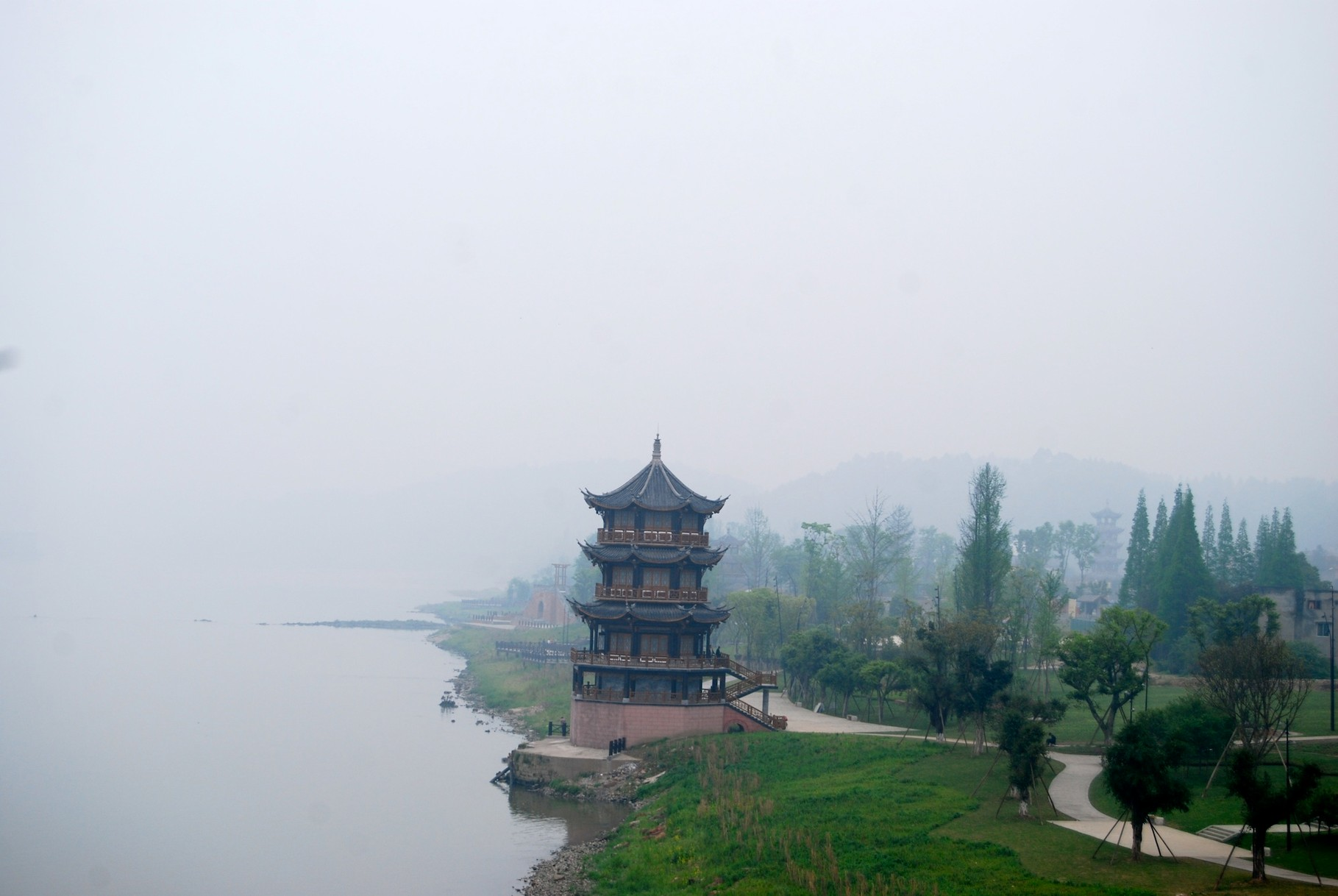 Konfuziustempel in Leshan