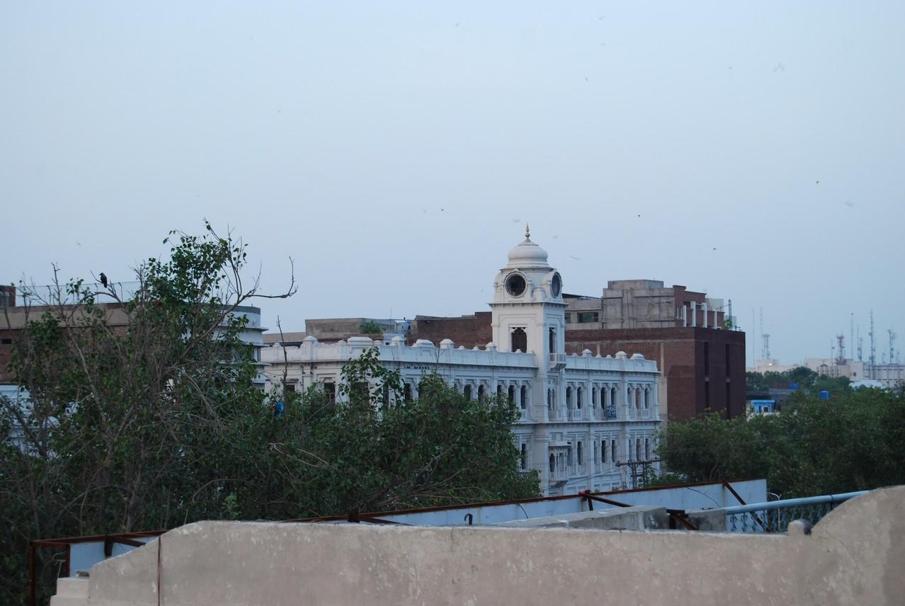 Aussicht auf Lahore von unserer Terasse aus
