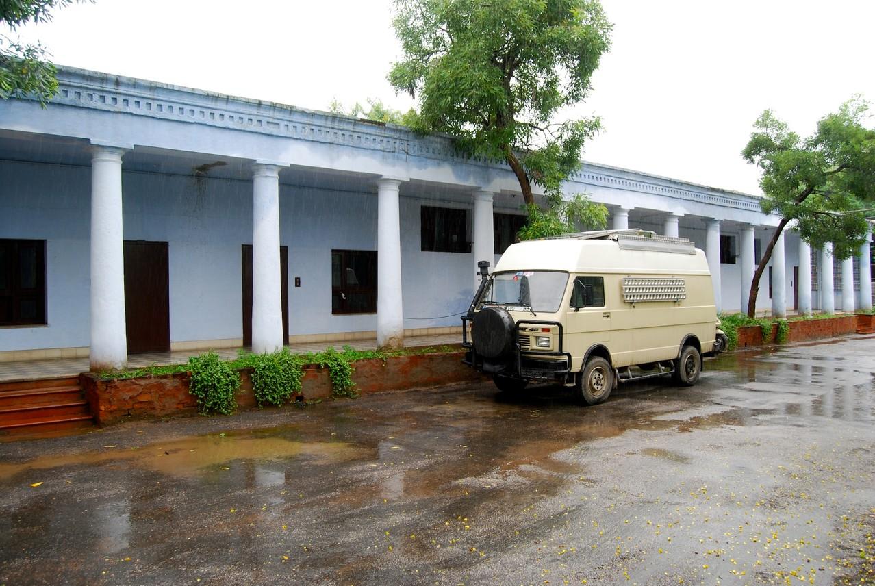 Unser Hotel in Agra