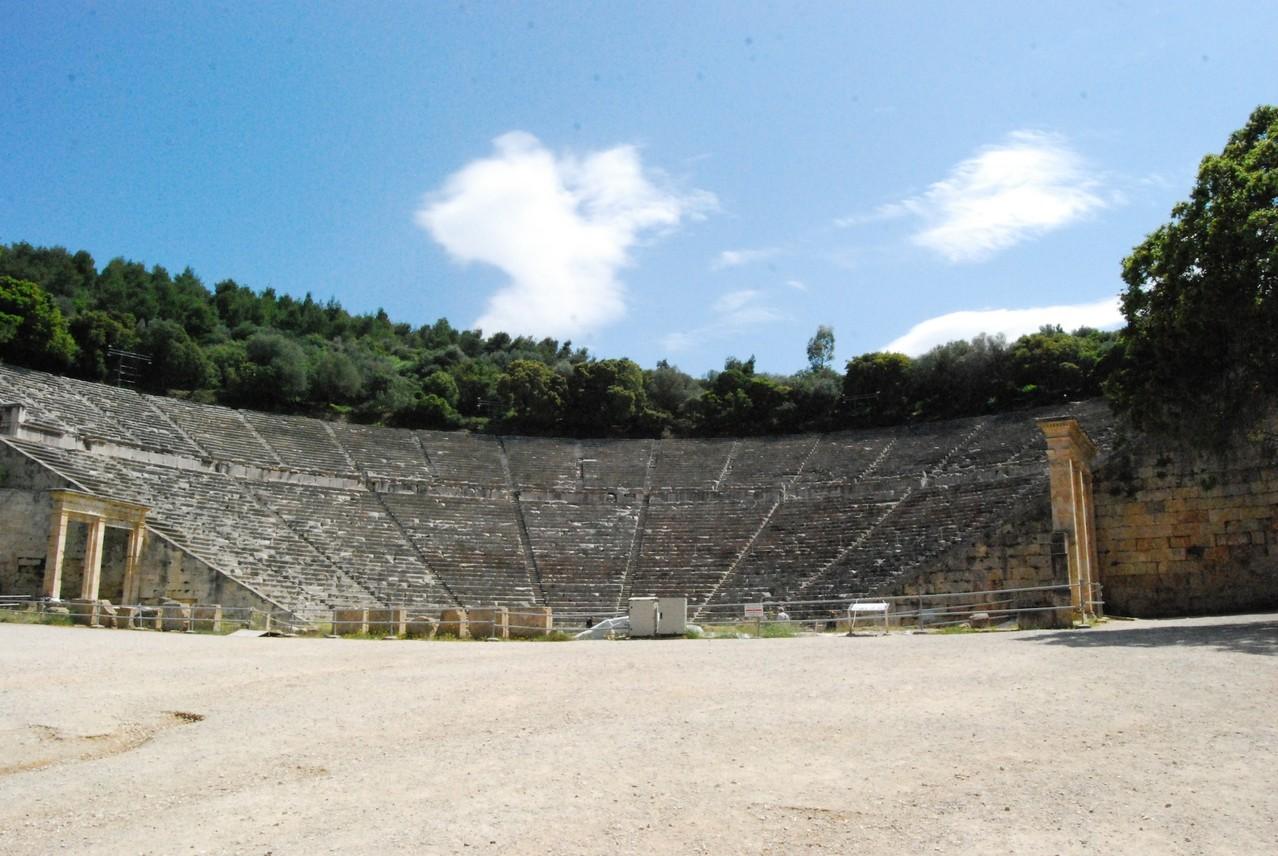 Das große Theater von Epidavros