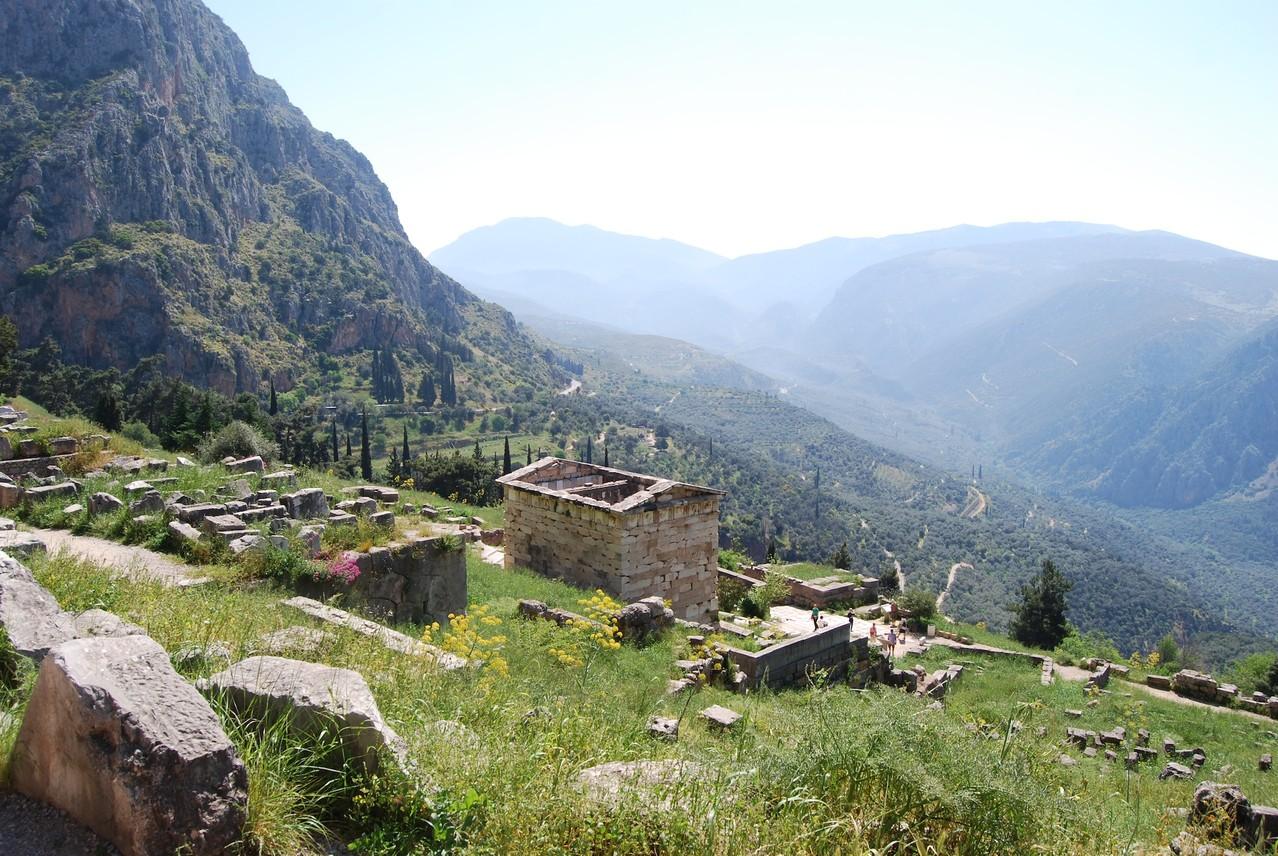 Aussicht von Delphi