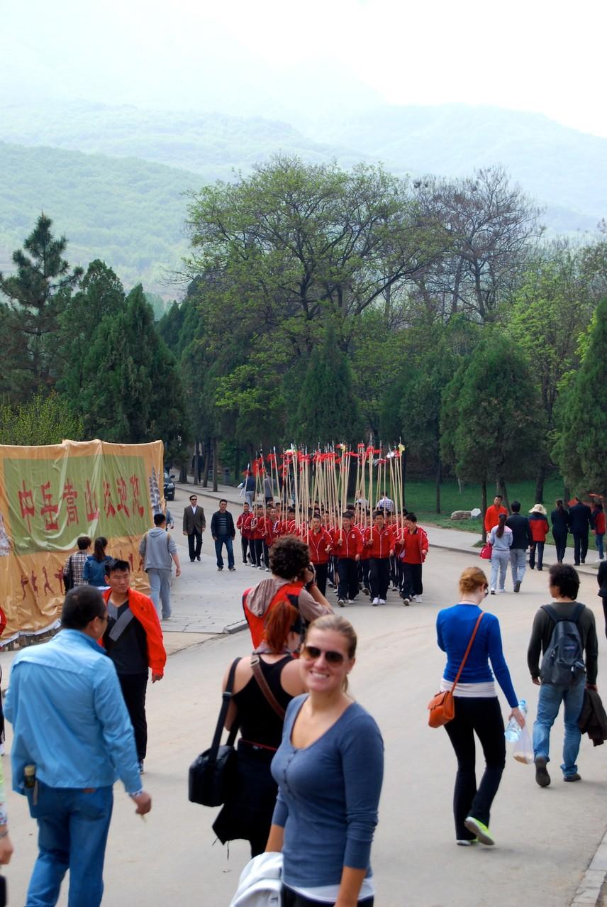 Aufmarsch der Shaolin-Mönche