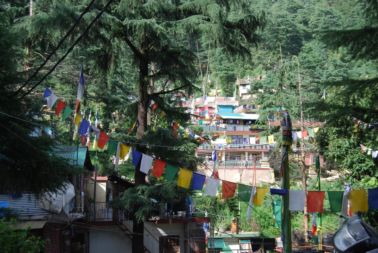 Buddhistische Gebetsfahnen