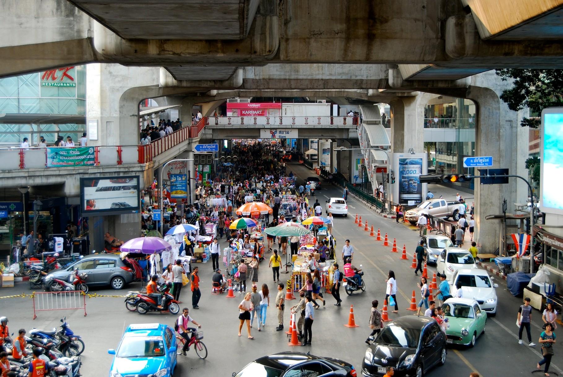 Proteste in Bangkok - Siam