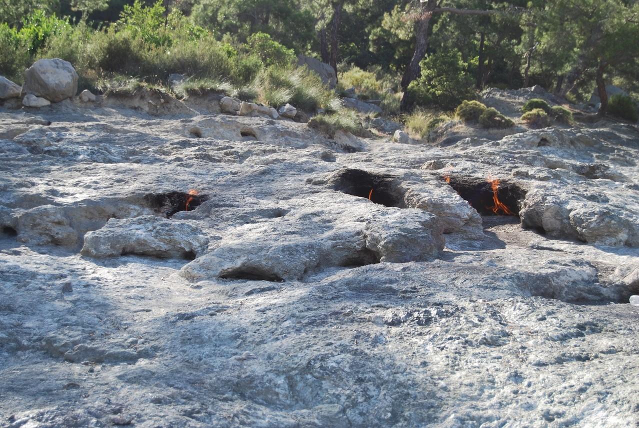 Feuer bei Cirali