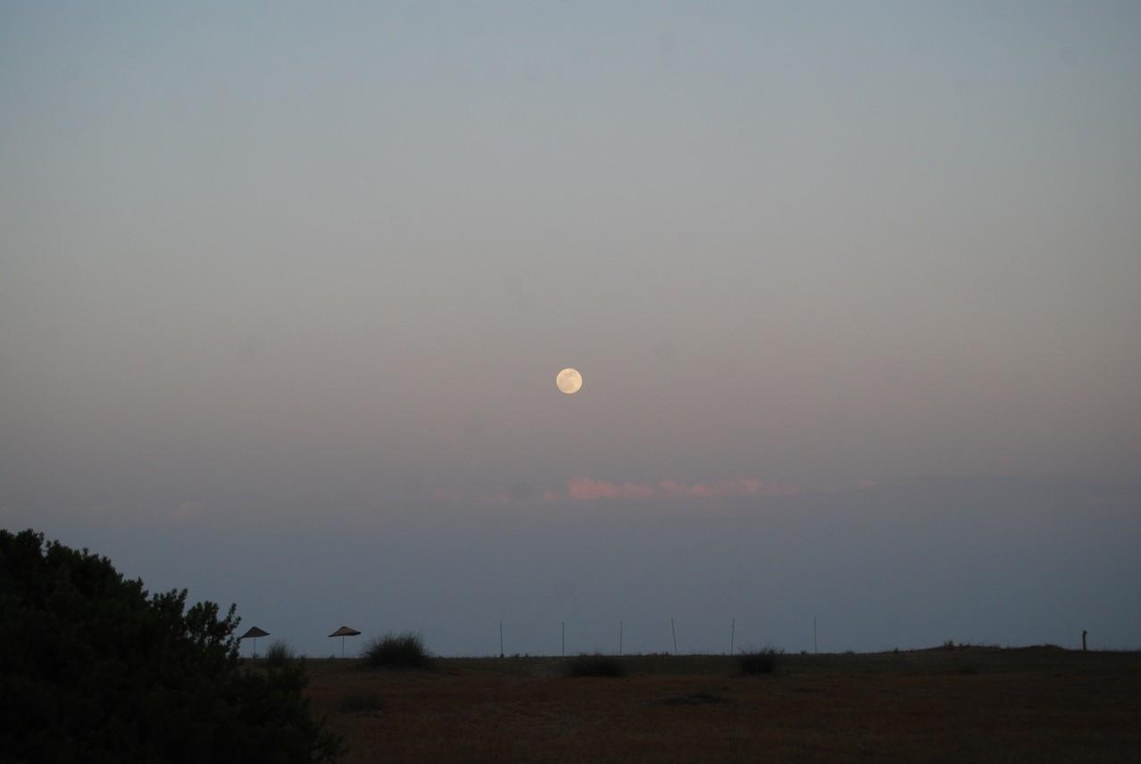 Mond bei Cirali
