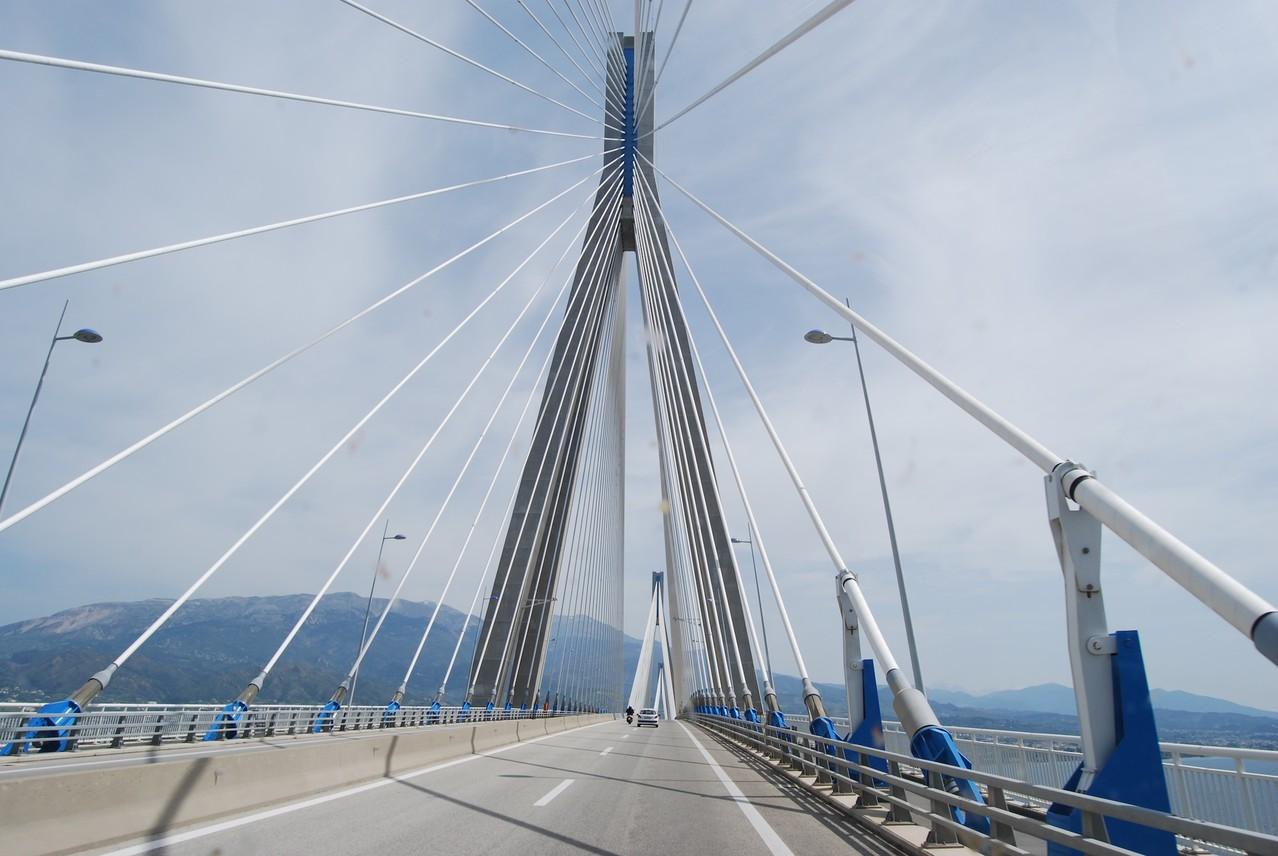 Brücke bei Patras