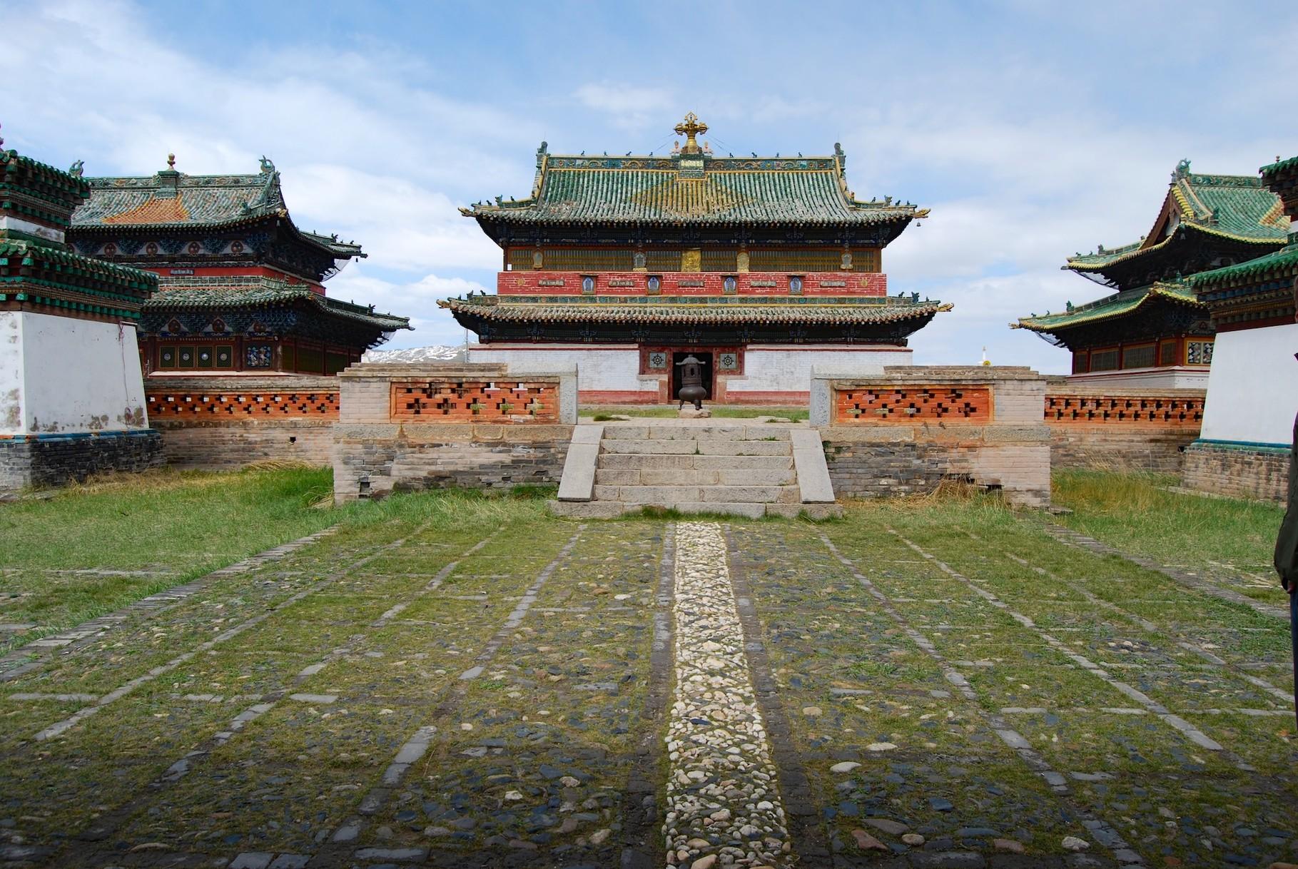 Kloster Erdene Zuu (alter Teil)