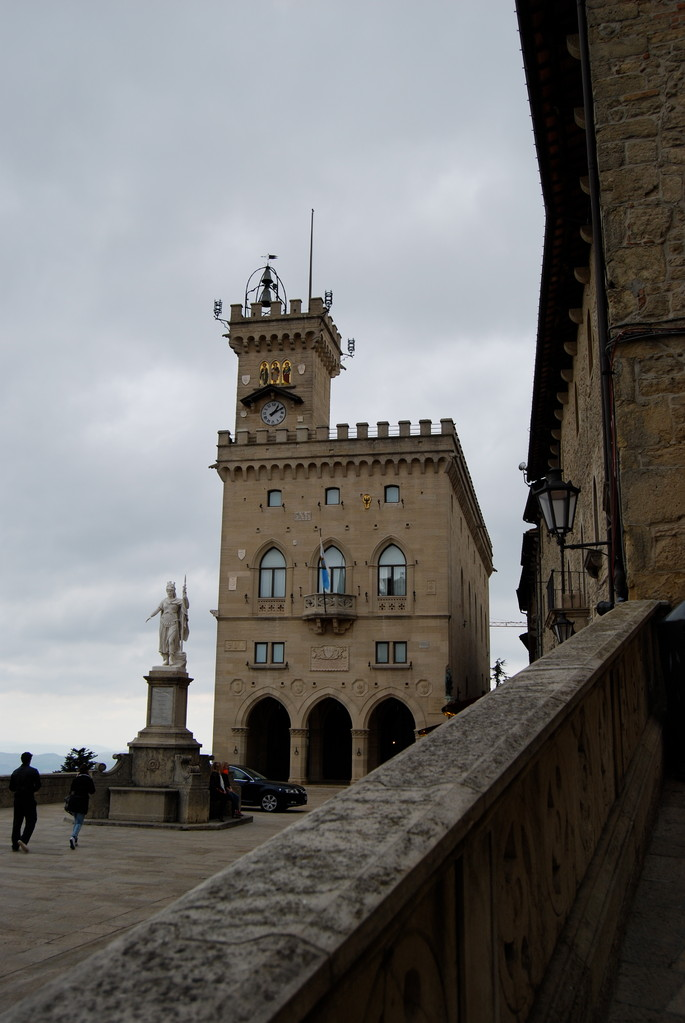 Der Regierungssitz in San Marino